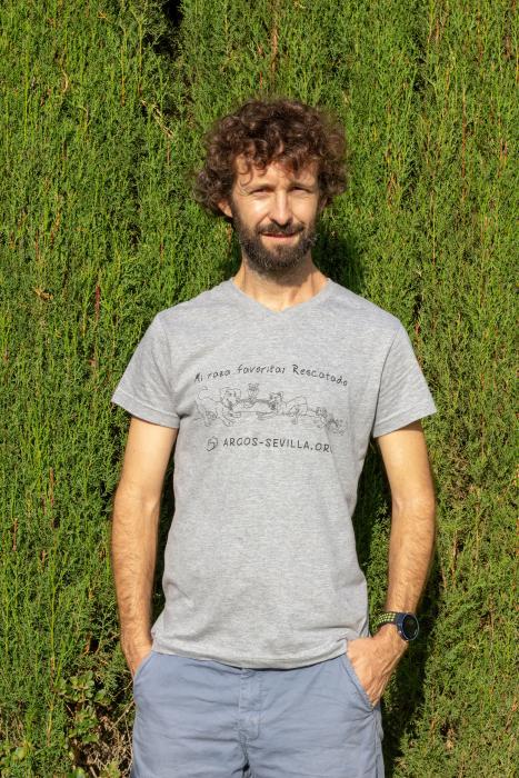 Camiseta adulto gris (unisex)